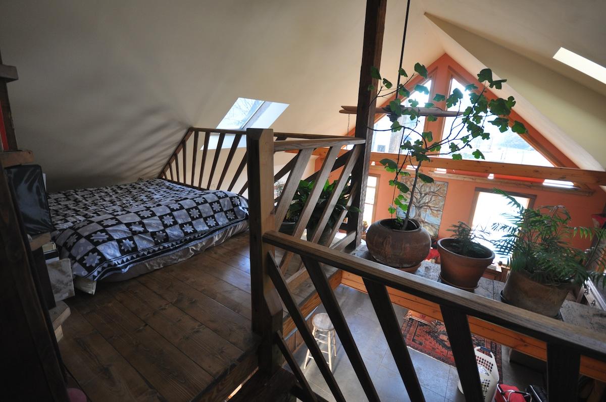Loft bed in Great Room