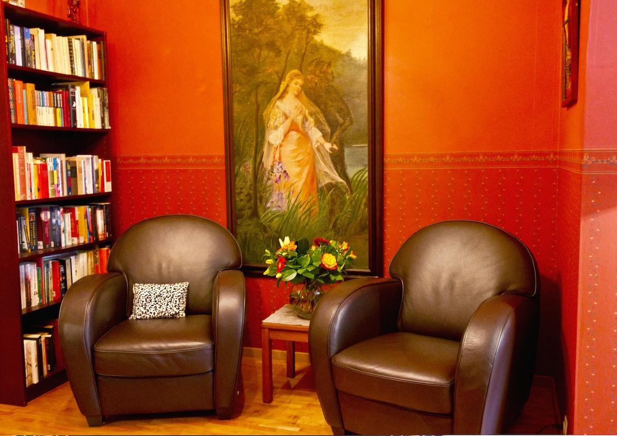 Marleen's home in Antwerp city