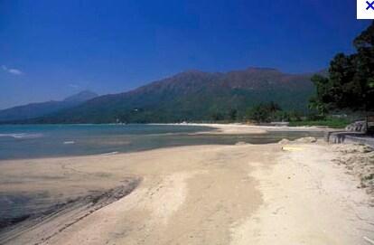 Pui O beach 5mins walk