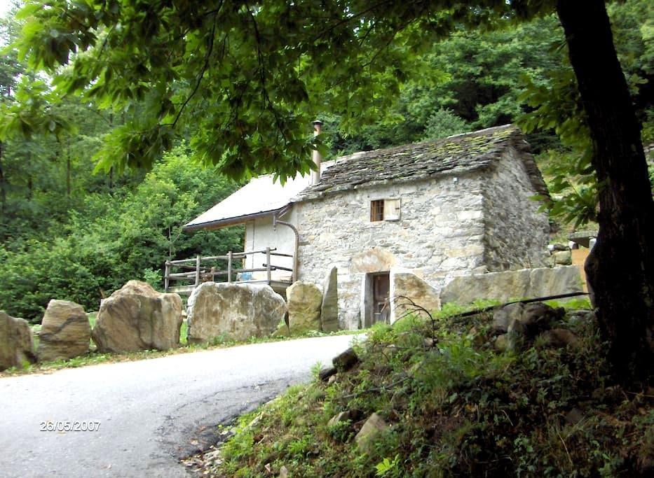Typical Italian Cottage - Ornavasso