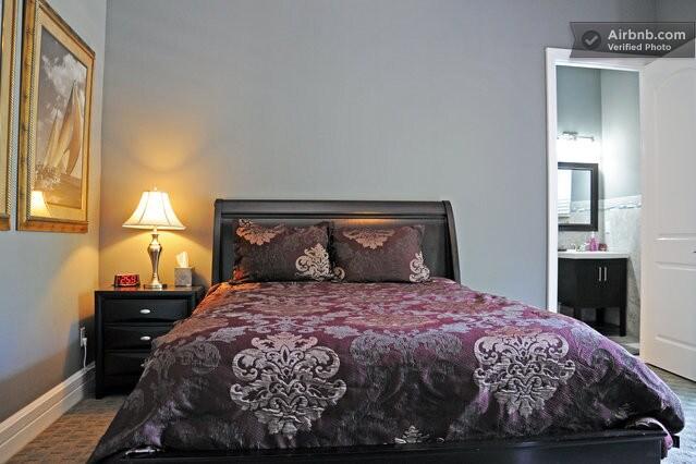 BEDROOM 2 - QUEEN BED, EN-SUITE BATHROOM AND PRIVATE BALCONY