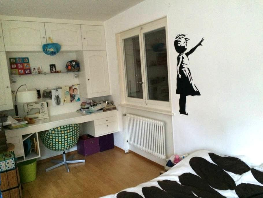 Chambre privée dans appart - Chexbres - Wohnung