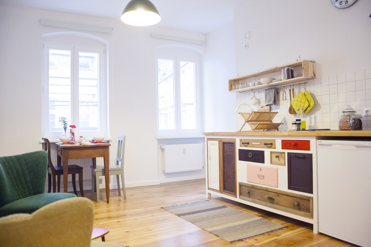 Charming Apt in Berlin-Kreuzberg