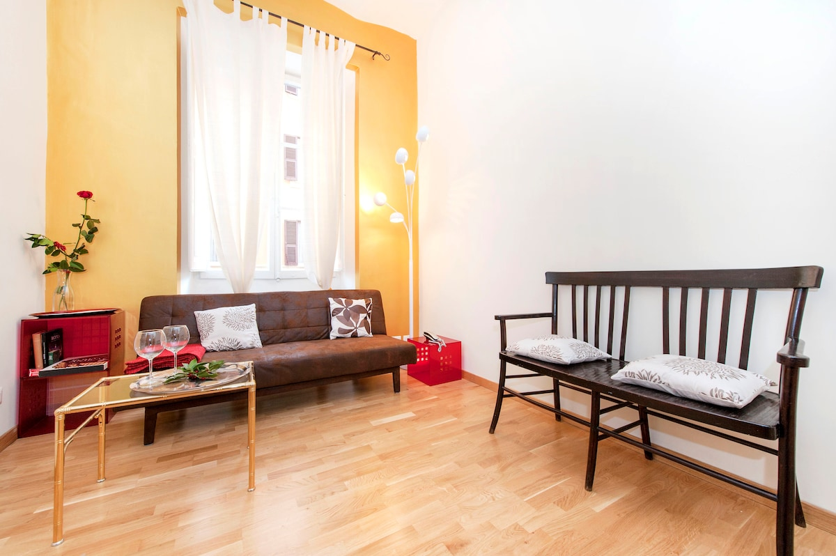 Central apartment in Roma