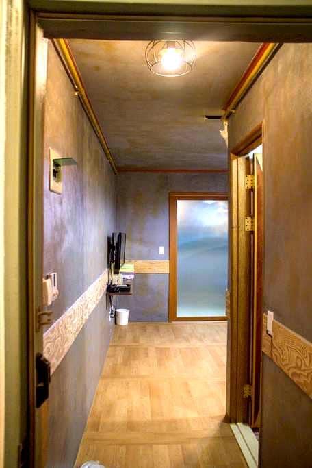 교통이 편리한 작은 공간(Furnished studio) - 서구 - Apartamento