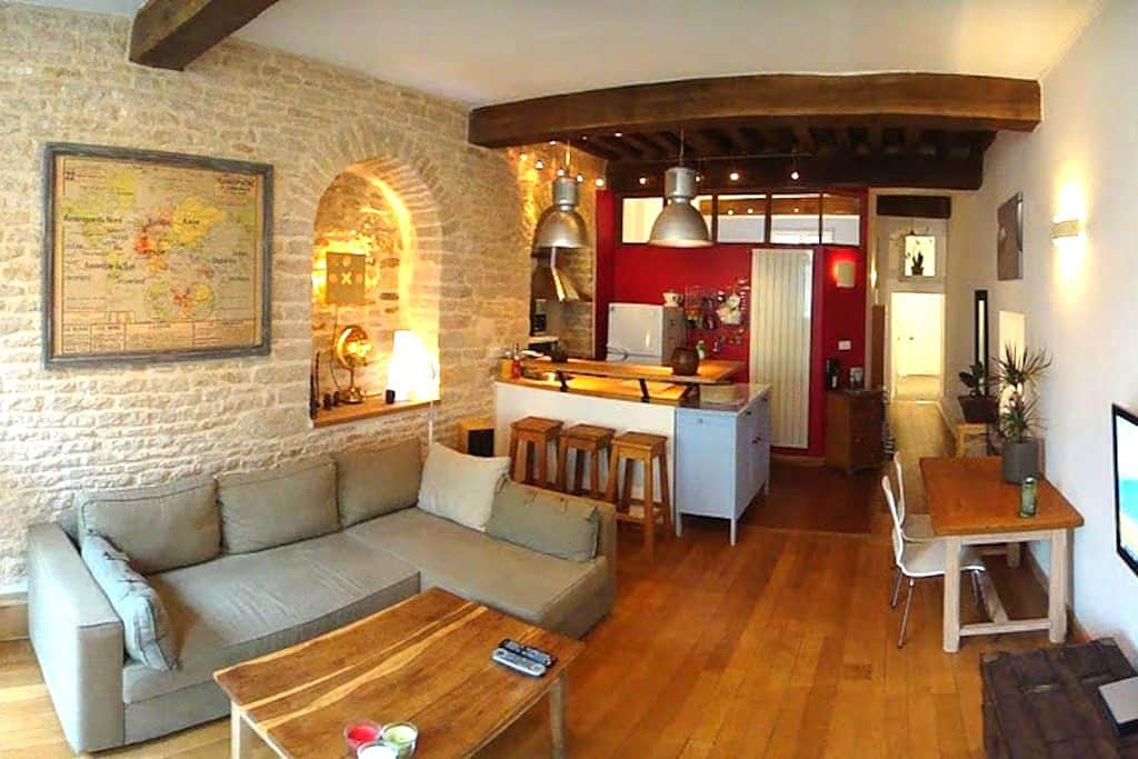 Antiquaire centre ville Historique - Dijon - Apartmen