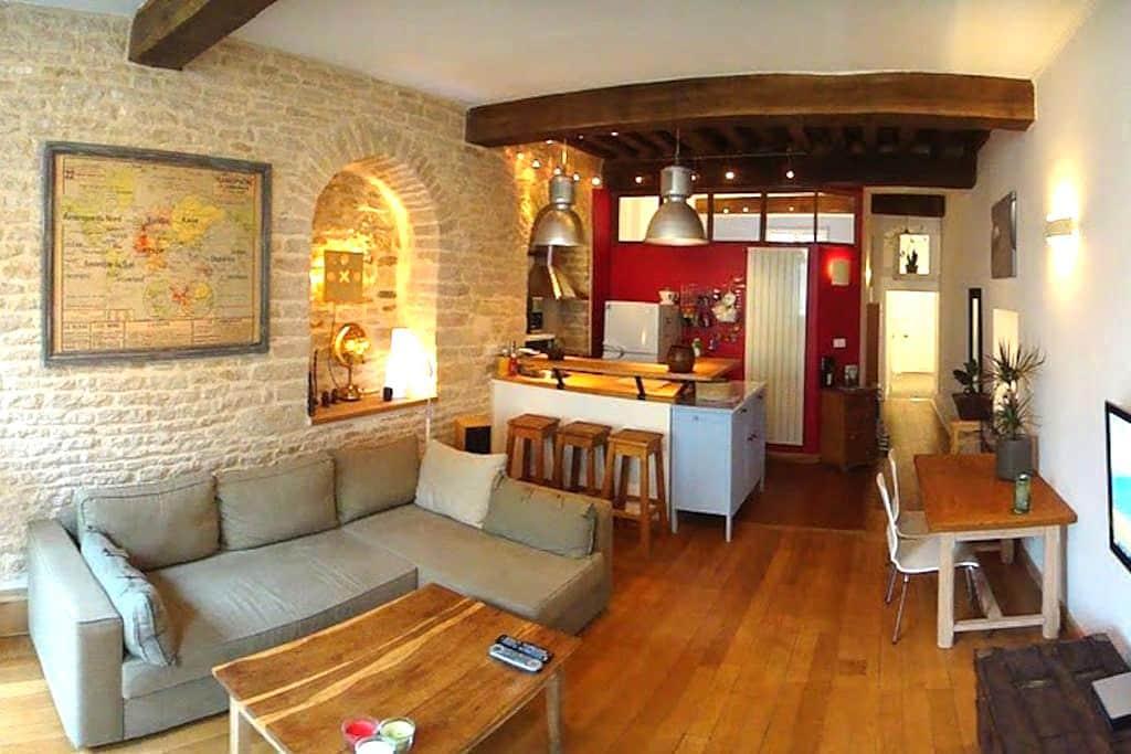 Antiquaire centre ville Historique - Dijon - Wohnung