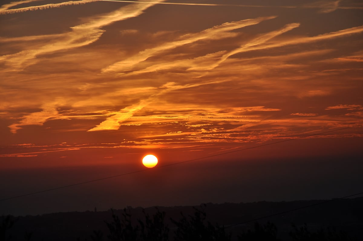 SHADES OF TUSCAN HILL SUNSET