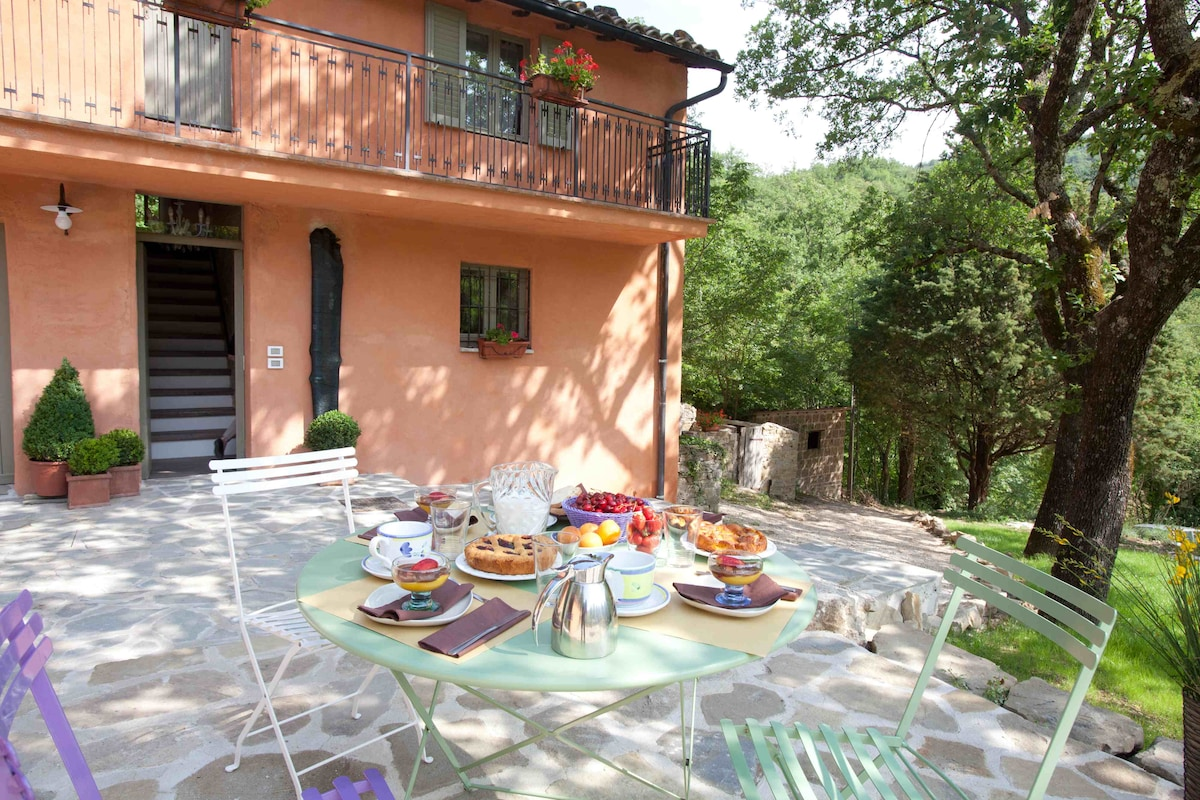 Assisi, country house in the Park