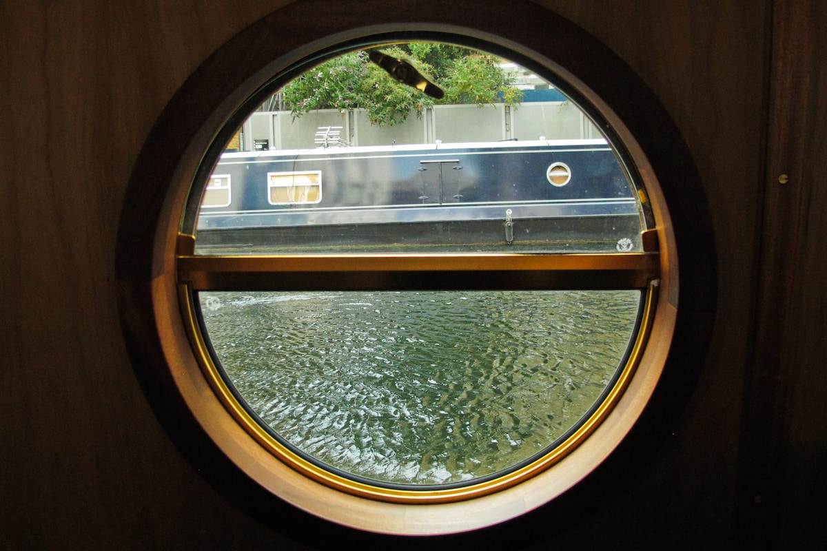 Central London Canal Narrowboat.