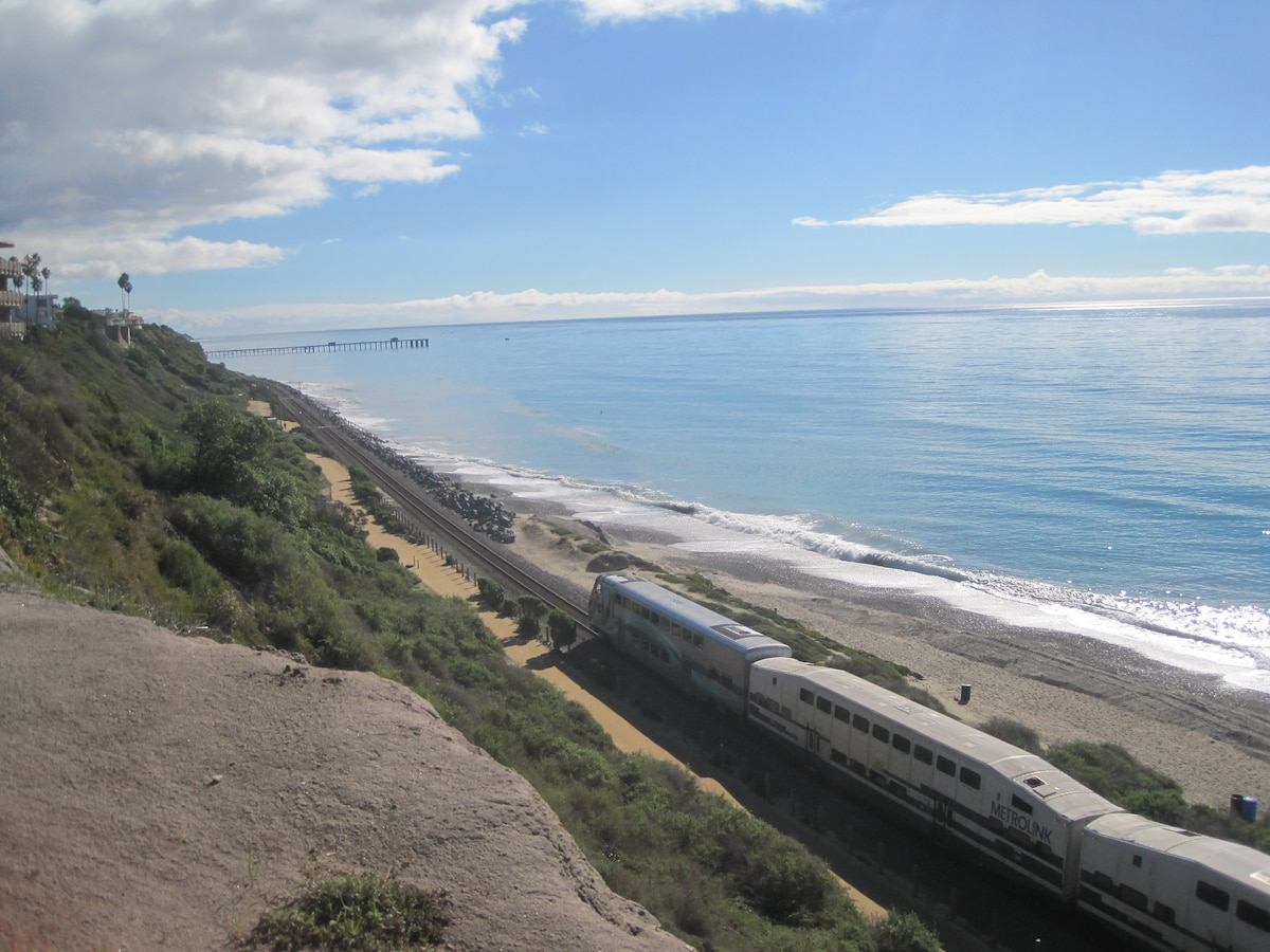 This is facing San Clemente Pier where I live from North Beach.. You can check the surf here