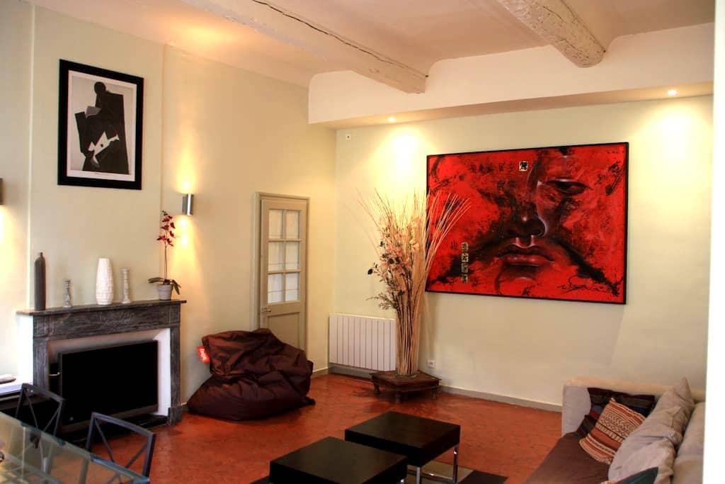 Centre-ville d'Aix-en-Provence - Aix-en-Provence - Lejlighed