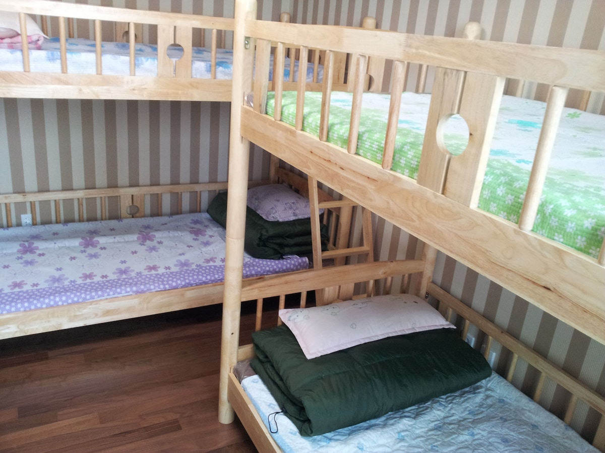 Dorm 6bed#6-comfort&cozy,convenient
