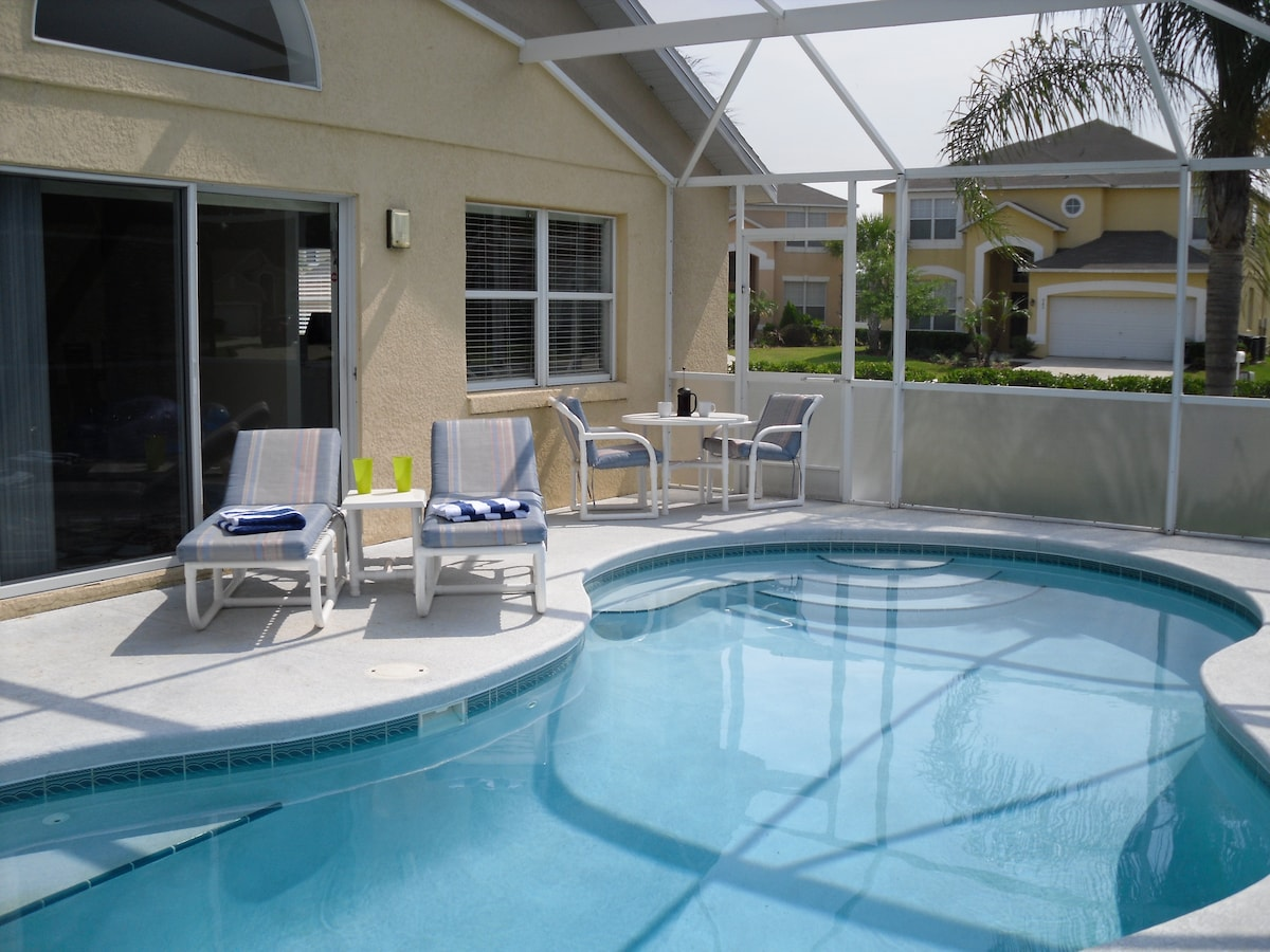 Great Villa-Near Disney. Free Wifi!