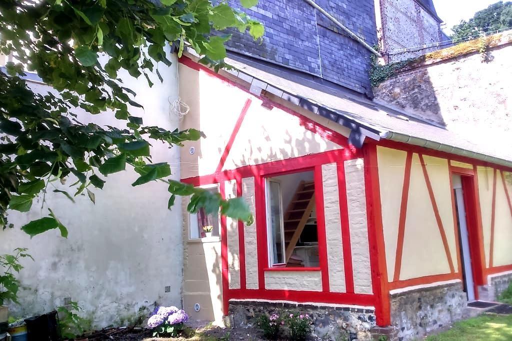 le jardin du couvent - Honfleur