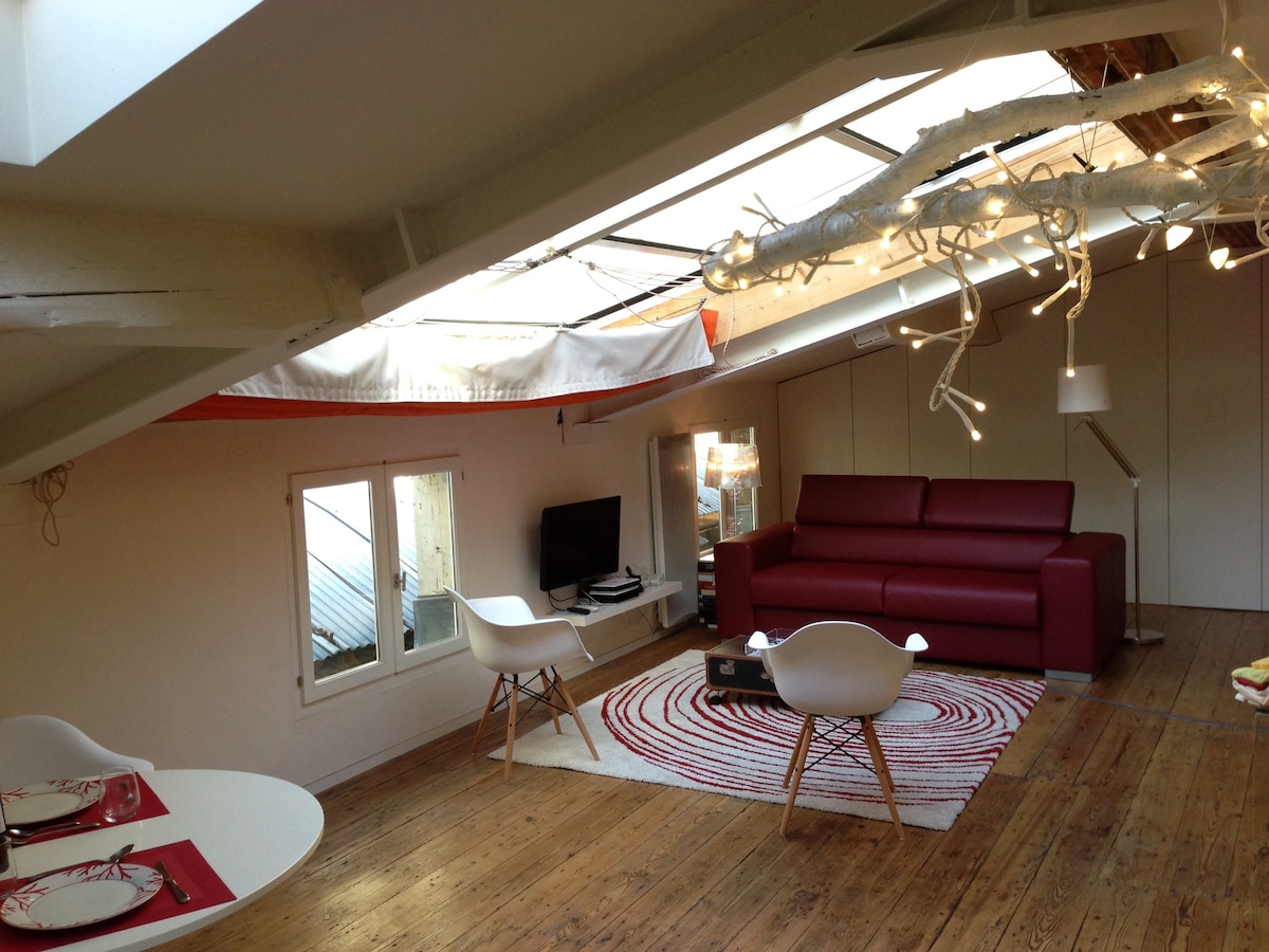 Loft in the heart of Bordeaux - Apartments for Rent in Bordeaux ...