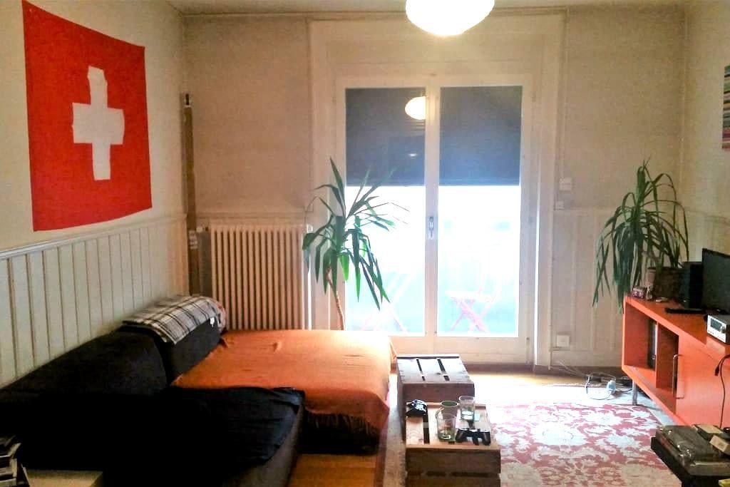 Simple, City room 10mins from Zurich Mainstation - Zürich - Appartement