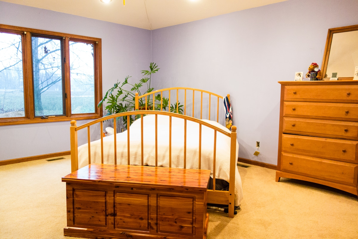 Master Bedroom-- Available only with whole-house rental