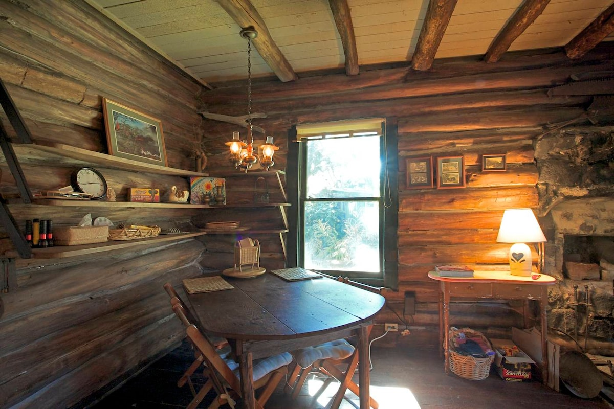The Log Cabin @ Hale Ohia Volcano
