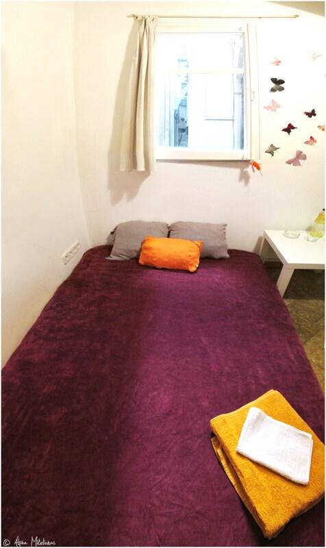 Big bed.