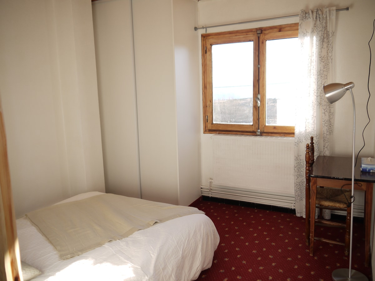 Private double Room south view