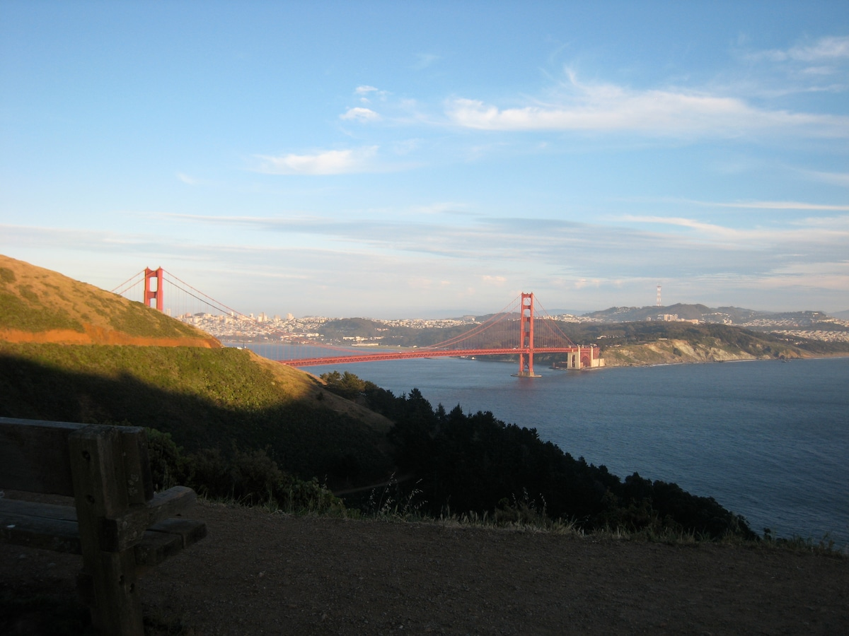View from nearby Marin Headlands