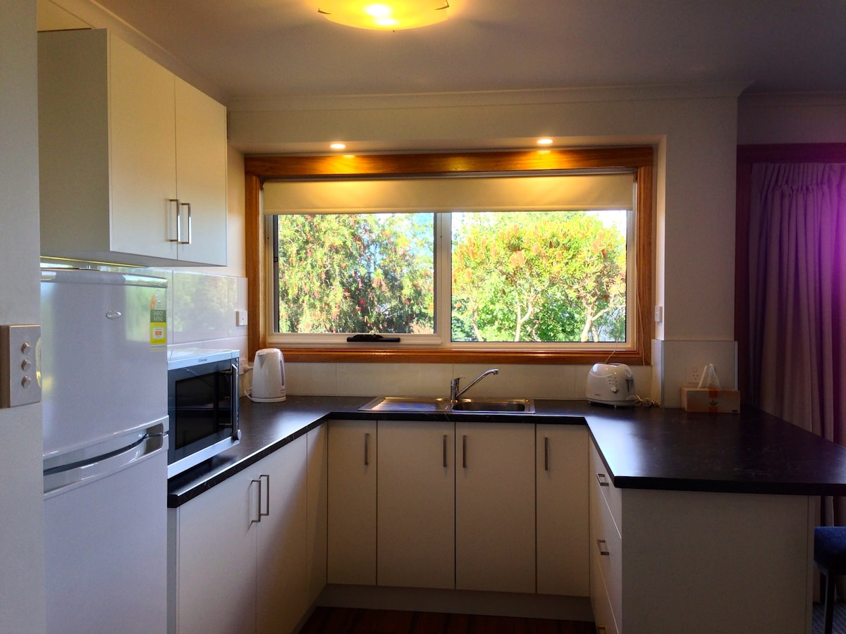 Kitchen, convection microwave, fridge, fully equipped