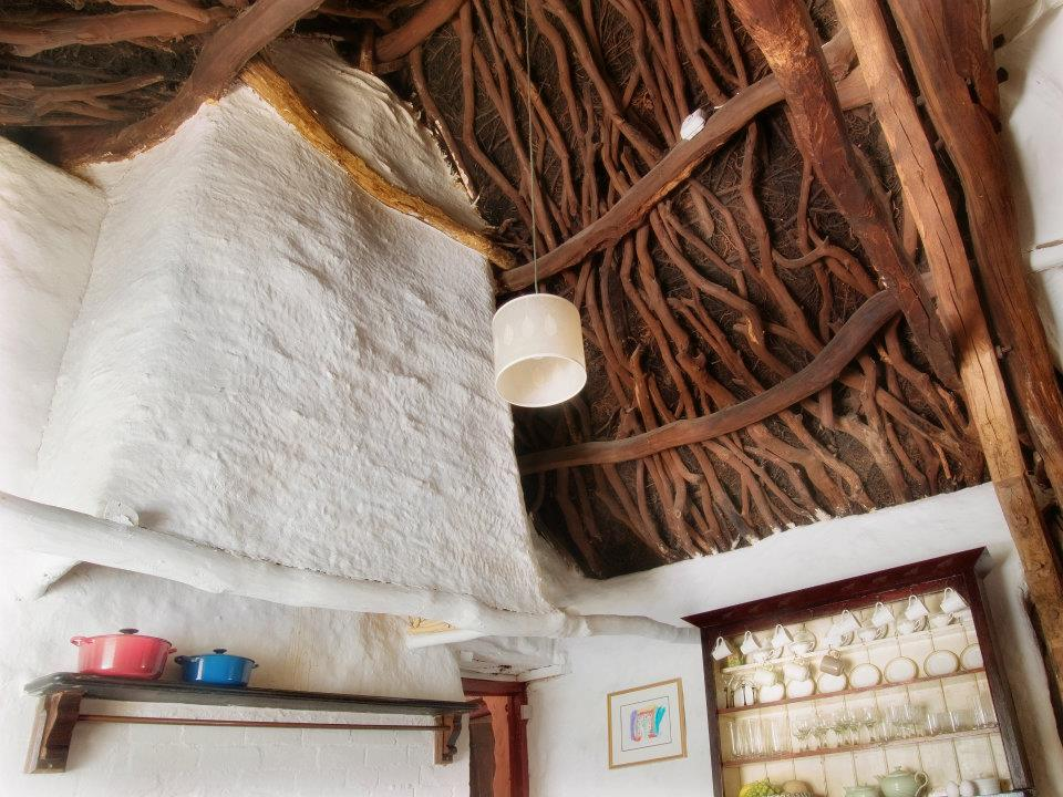 Timbers are original to the house circa 1750