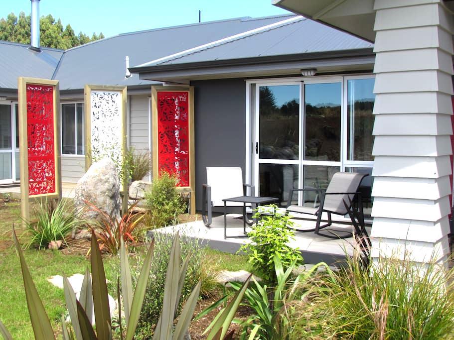 Room at Tongariro Suites@ The Rocks - Horopito - Boutique-hotelli
