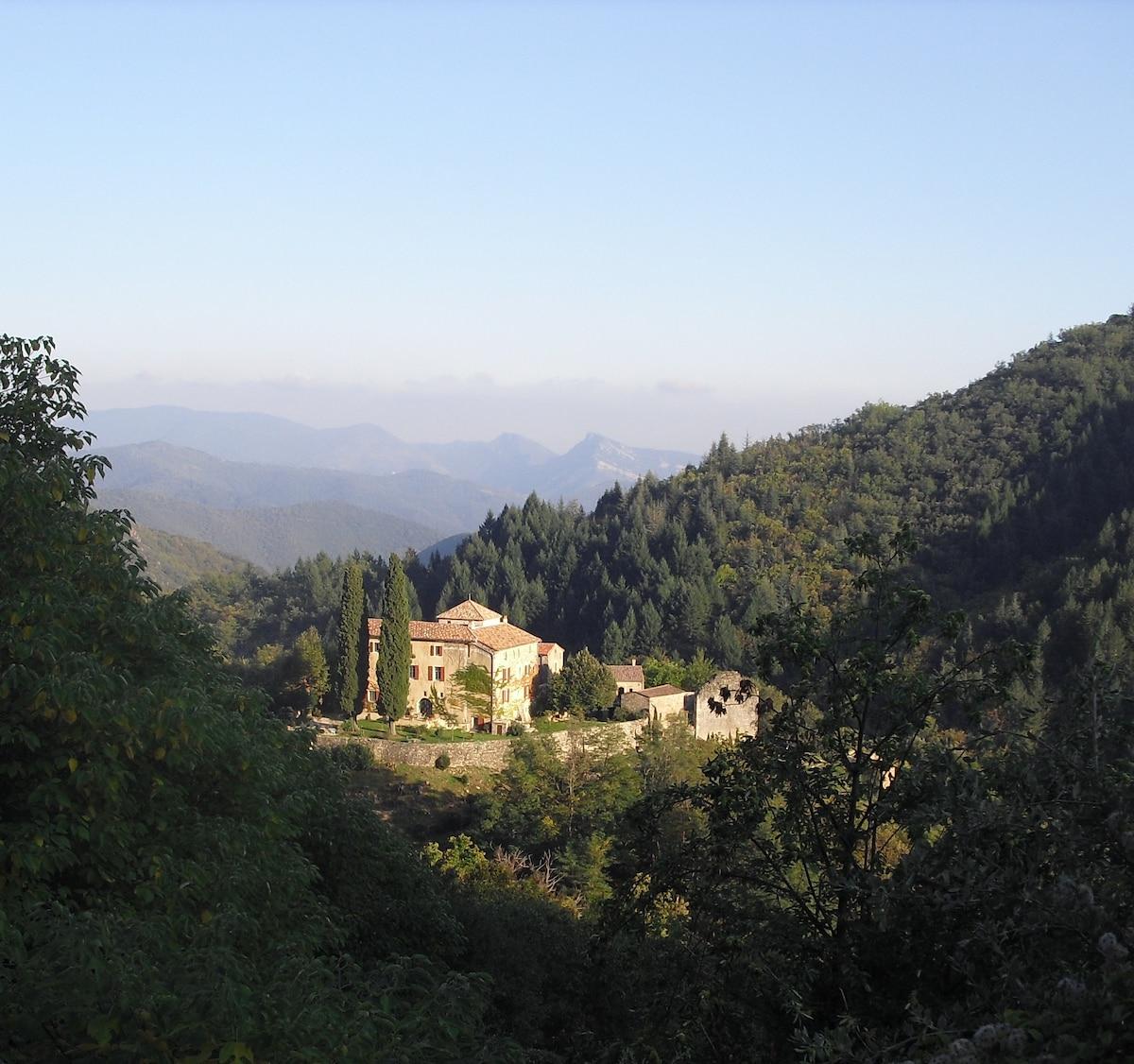 Cévennes Château Chambre d'hôte  1