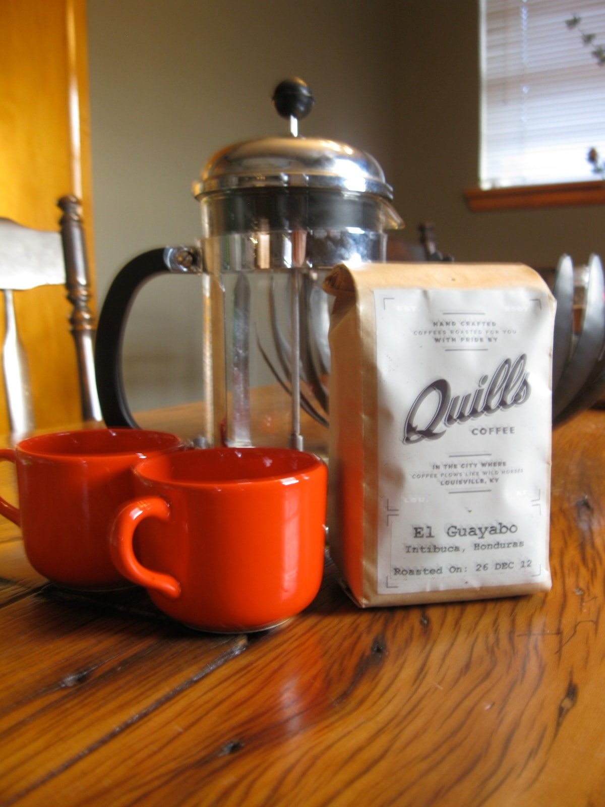 We'll leave you with the best coffee in town!