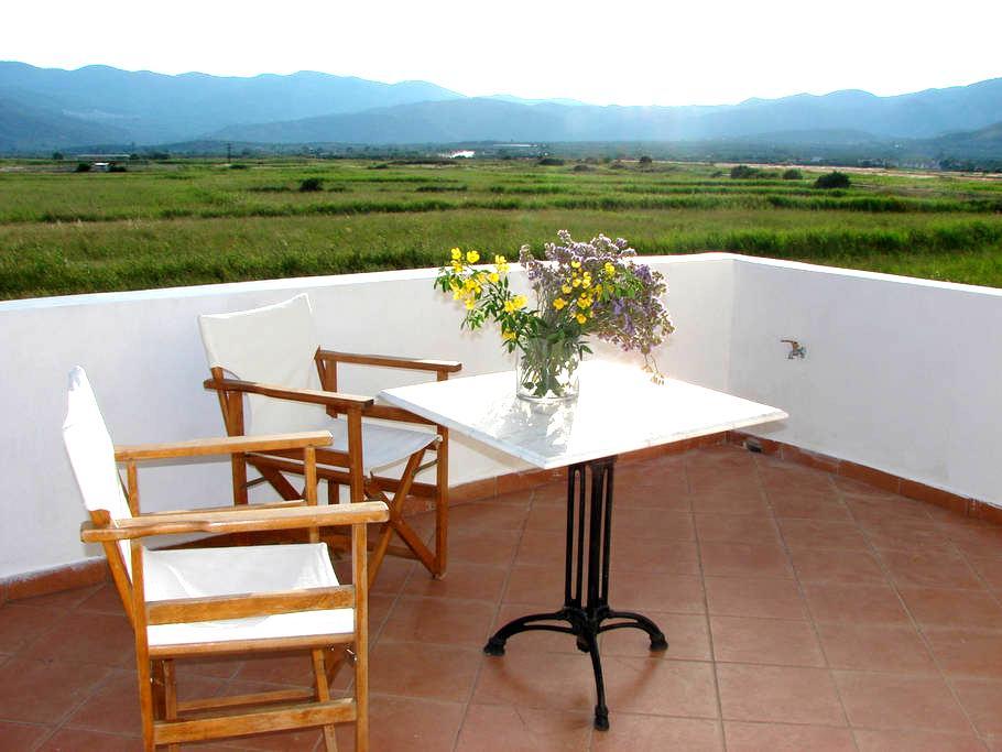 family apartment300m from the beach - Pythagoreio