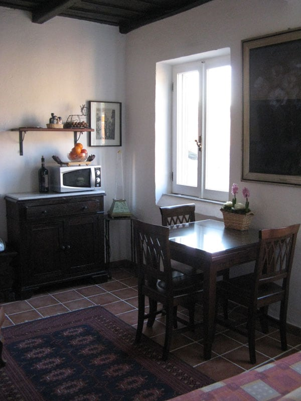 panoramic apartment in Trastevere
