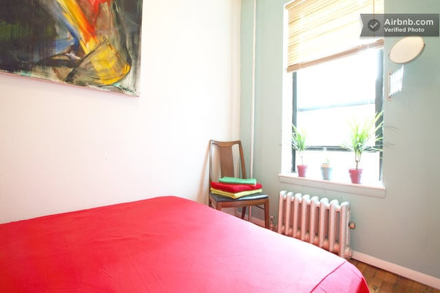 The Guest Bedroom.  You can rent this room through our other page, 'Quiet & Comfy stay in Greenpoint'.