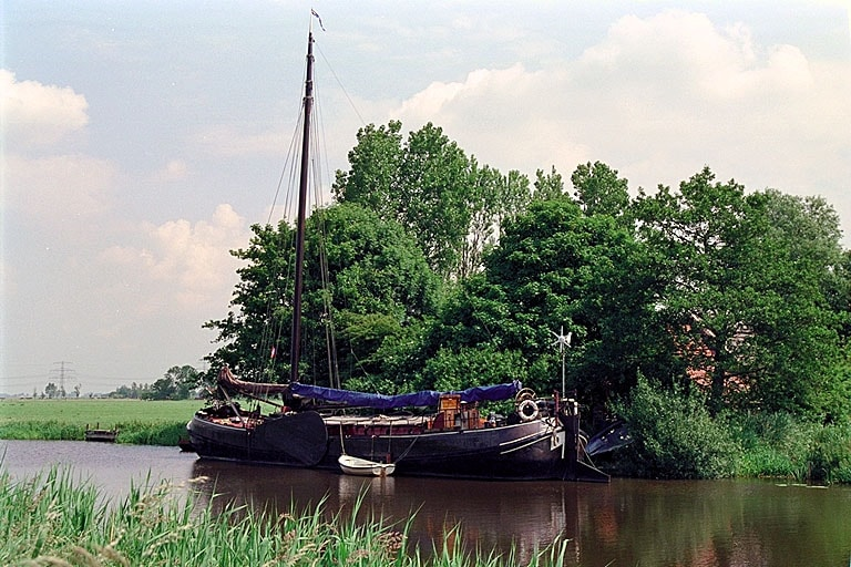 Romantic stay on old Dutch Barge