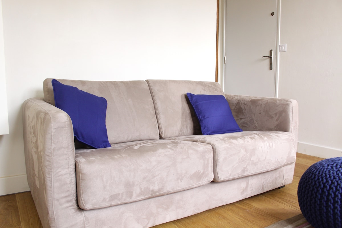 canapé lit en bultex