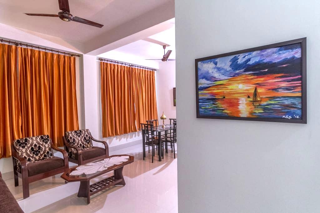 Tusti Homestay - Two bedroom bungalow with kitchen - 古瓦哈提(Guwahati) - 家庭式旅館