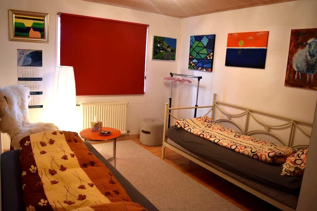 Twin room family house Klaksvík - Klaksvík - House