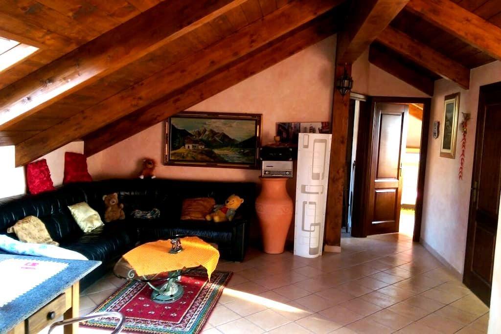 Splendido appartamento mansardato - Grugliasco - Daire