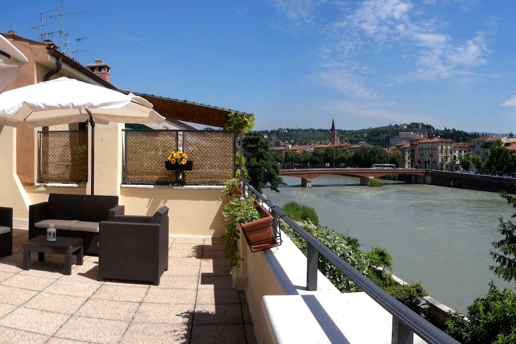 The river view - Verona - Apartment