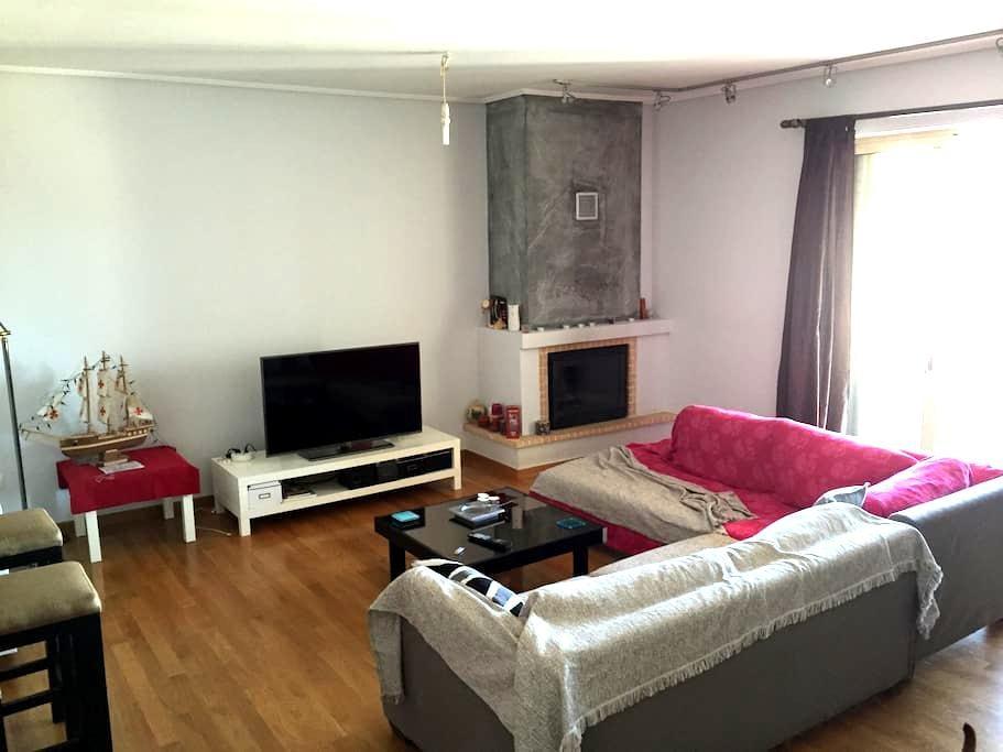 Spacious autonomous apt - Μαρκόπουλο Μεσογαίας - Apartemen