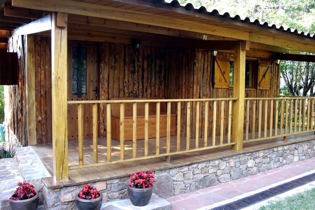 Cabaña con encanto cerca de Vic - Vilanova de Sau - Apartment
