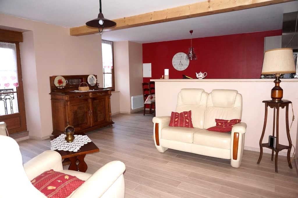 Appartement dans maison de village - Sauclieres - Apartemen