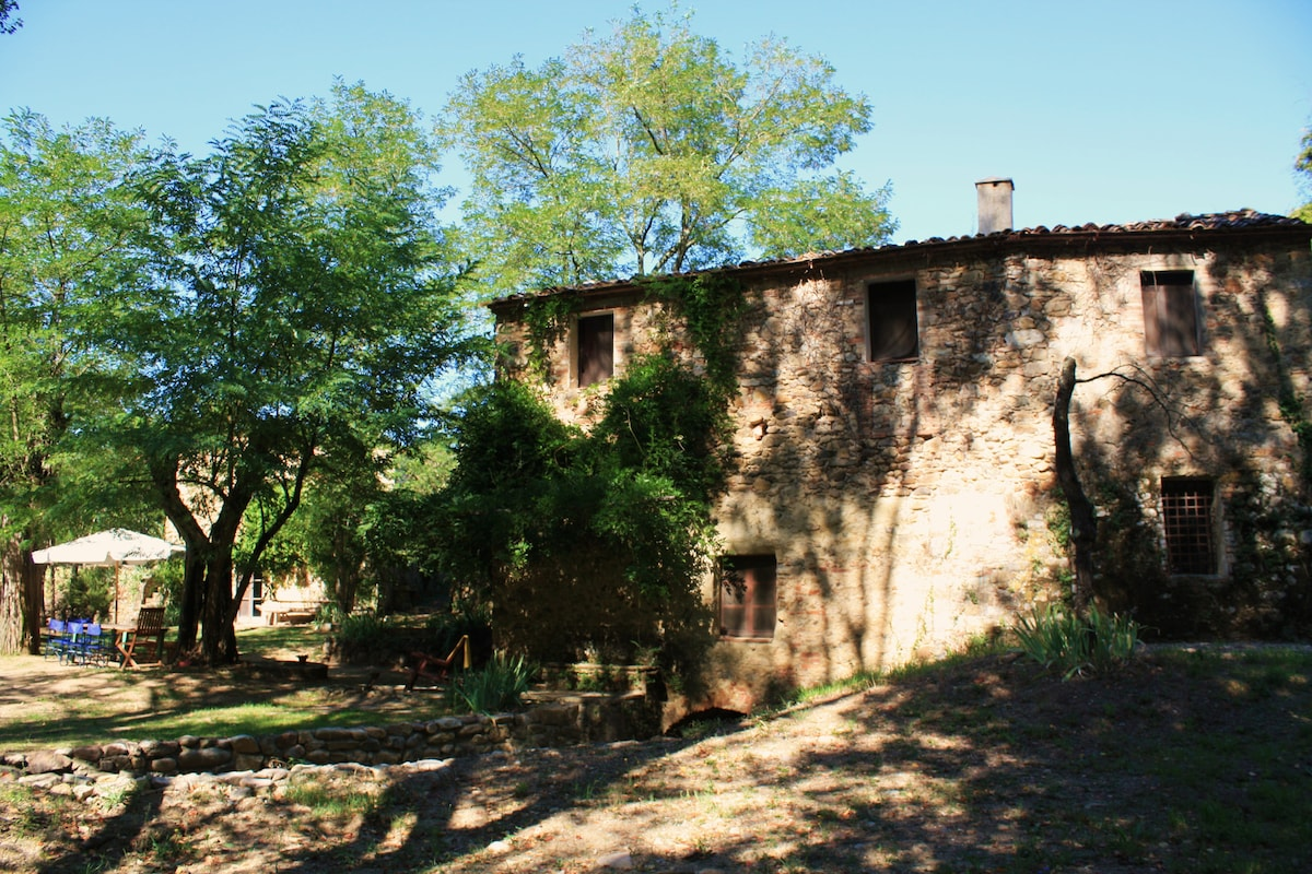 Picturesque Tuscan Mill House