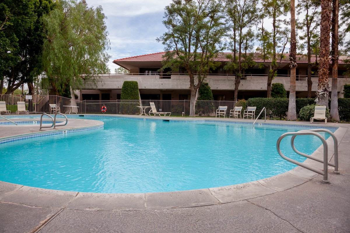 One of many pools for your enjoyment!