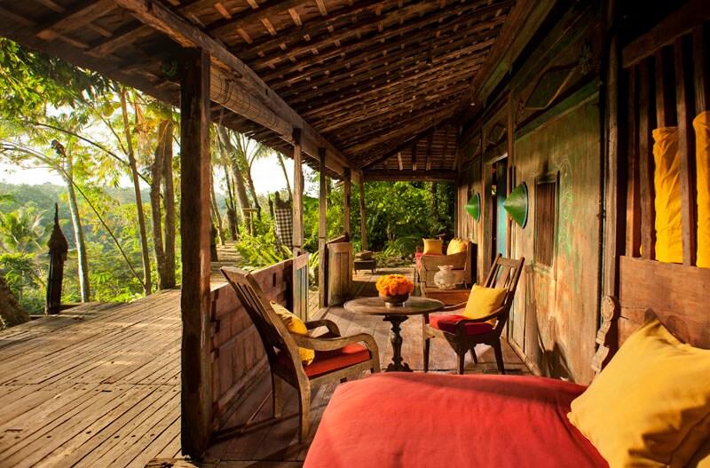 Ancient Teak Java House, View Ubud