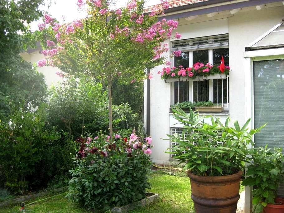 B&B two in Geneva City - Airport - Meyrin