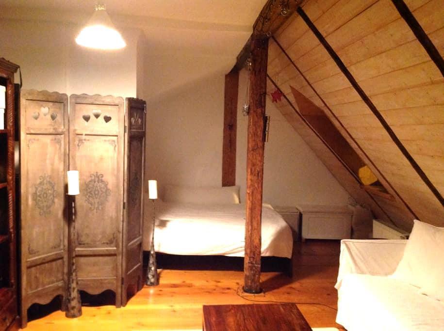 Schoene Dachwohnung im Zentrum - Landshut - Apartment