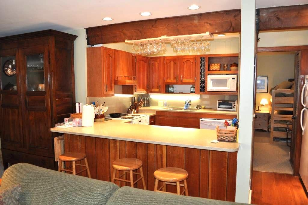 Walk to the slopes from this gorgeous condo - Warren - Apto. en complejo residencial