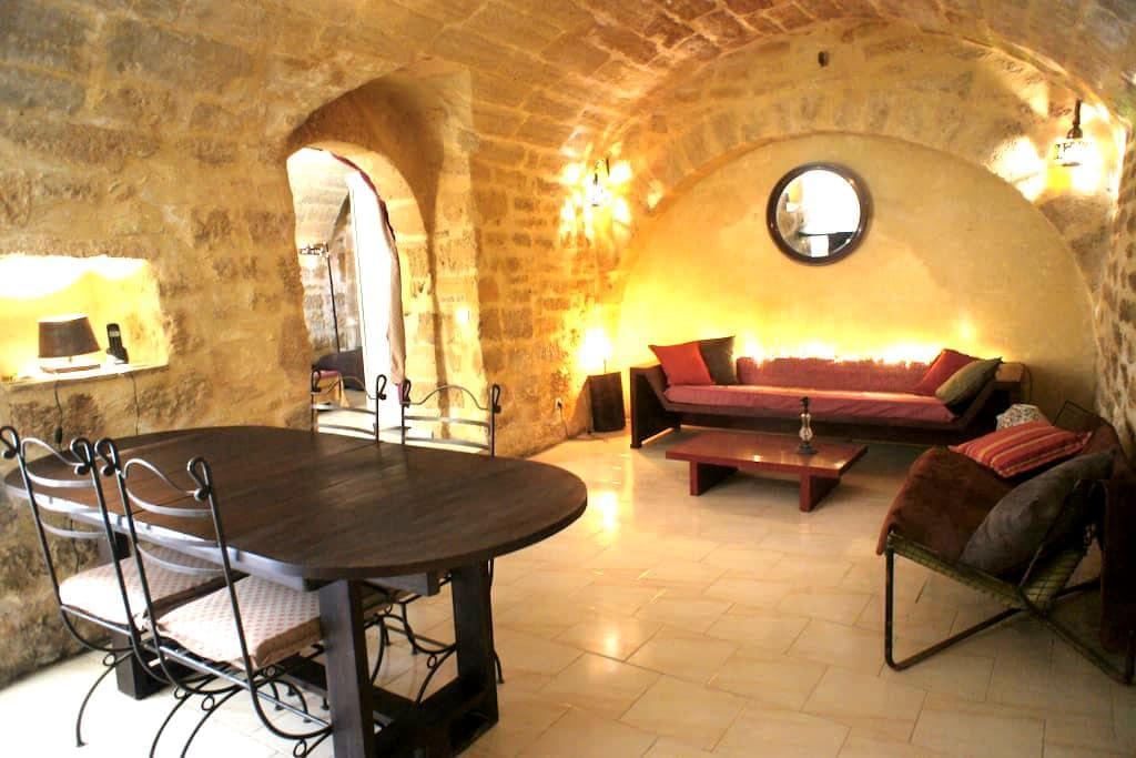 stone vaults, herbs & a hoofmaker! - Uzès - Apartment